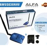 Alfa AWUS036NHV + Mount + Suck + Clip USB Wifi Adaptor