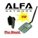 Alfa AWUS036NH 802.11n WIRELESS-N + USB Wifi adapter
