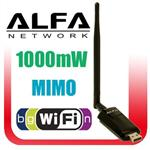 Alfa AWUS036NEH 802.11n WIRELESS-N USB Wi-Fi + Antenna